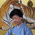 Tiger Tea Lady by phil decocco