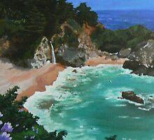 Trevor Hormel - Seascape - painting by PKTGhormel