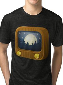 Glitch Music Blocks musicblock goodnight groddle Tri-blend T-Shirt
