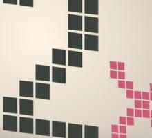 Glitch Music Blocks musicblock x shiny 02 Sticker