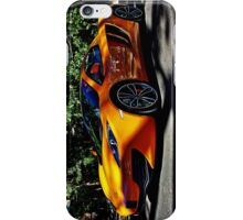 Orange Mclaren at Belair Country Club iPhone Case/Skin