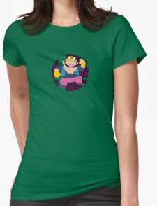 Smash Bros: Wario Womens Fitted T-Shirt