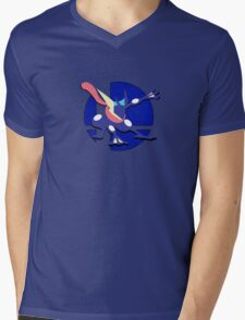 Smash Bros: Greninja Mens V-Neck T-Shirt