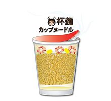 Cup Noodle by carmanpetite