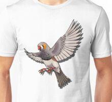 Zebra finch Unisex T-Shirt