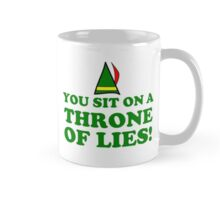 CHRISTMAS THRONE ELF Mug