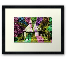 The Colorful Little House Framed Print
