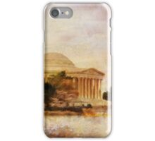 Jefferson Memorial Just Past Dawn iPhone Case/Skin