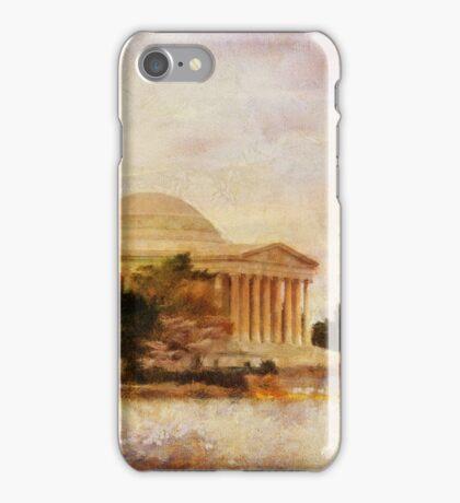 Jefferson Memorial Just Past Dawn iPhone Case/Skin