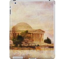 Jefferson Memorial Just Past Dawn iPad Case/Skin