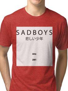 S A D B O Y S dota 2001 悲しい少年 Tri-blend T-Shirt