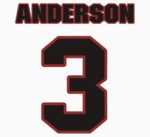 NFL Player Derek Anderson three 3 T-Shirt