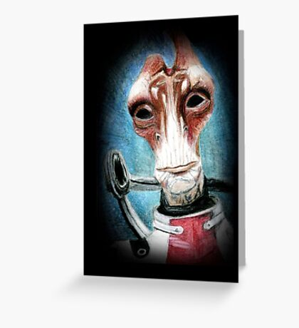 Mordin Solus - Mass Effect Greeting Card