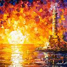 Glimpse To The Sea — Buy Now Link - www.etsy.com/listing/210056858 by Leonid  Afremov