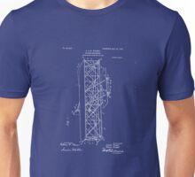Wright Brothers Flying Machine Patent Art 1906 Unisex T-Shirt