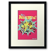 The Aquabats! Super Print! Framed Print