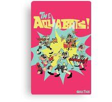 The Aquabats! Super Print! Canvas Print