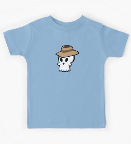 Mr. Skull Hat Kids Tee