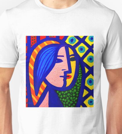 Homage To Picasso  Unisex T-Shirt