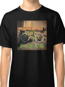 Green Fixie Classic T-Shirt