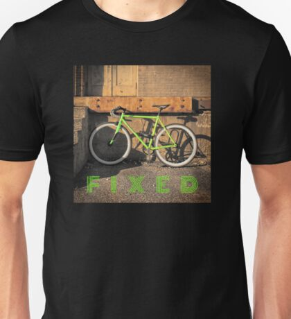 Green Fixie Unisex T-Shirt