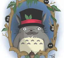 My Dapper Neighbour Totoro by Artbyteesa