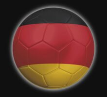 Germany - German Flag - Football or Soccer 2 Kids Clothes
