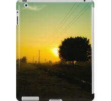 An Orange Sunrise iPad Case/Skin