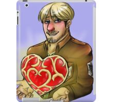 MIke Heart container iPad Case/Skin