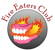 Fire Eaters Club Photographic Print