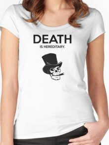 Death is Hereditary IV Women's Fitted Scoop T-Shirt