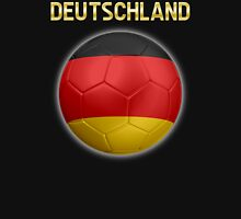 Deutschland - German Flag - Football or Soccer Ball & Text 2 Unisex T-Shirt