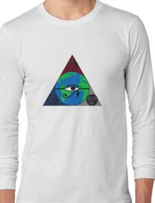 Collective Consciousness(more simple) Long Sleeve T-Shirt
