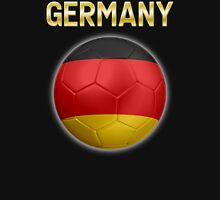 Germany - German Flag - Football or Soccer Ball & Text 2 Unisex T-Shirt