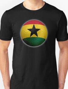 Ghana - Ghanaian Flag - Football or Soccer 2 Unisex T-Shirt