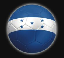 Honduras - Honduran Flag - Football or Soccer 2 by graphix