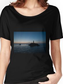 Red Sea Sunset Women's Relaxed Fit T-Shirt