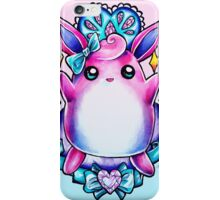 Wigglytuff iPhone Case/Skin