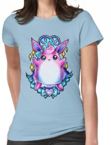 Wigglytuff Womens Fitted T-Shirt