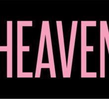 Heaven Sticker