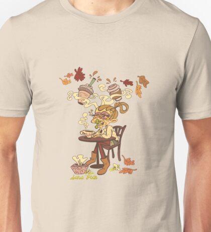 Pumpkin Spice and Cold Season Unisex T-Shirt