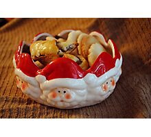 Home-Baked Christmas Cookies Photographic Print