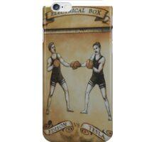 Edison and Tesla Electrical Box iPhone Case/Skin