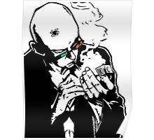 Transmetropolitan - Spider Jerusalem Smoking Poster