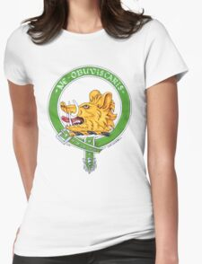 Clan Campbell Scottish Crest Womens Fitted T-Shirt