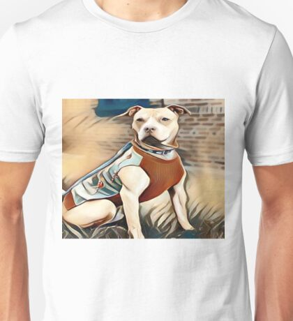 The Friendly Well Groomed Pit Bull Unisex T-Shirt