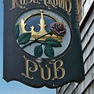 Rose And Crown Pub by phil decocco