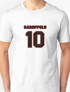 NFL Player Jimmy Garoppolo ten 10 T-Shirt