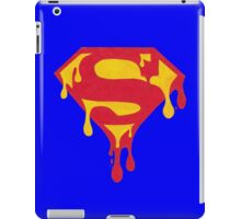 Dripping Superman Symbol iPad Case/Skin