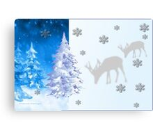 A blue Christmas on all products (5254 Views) Canvas Print